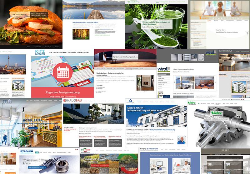Erstellung von Internetseiten in WordPress oder joomla!