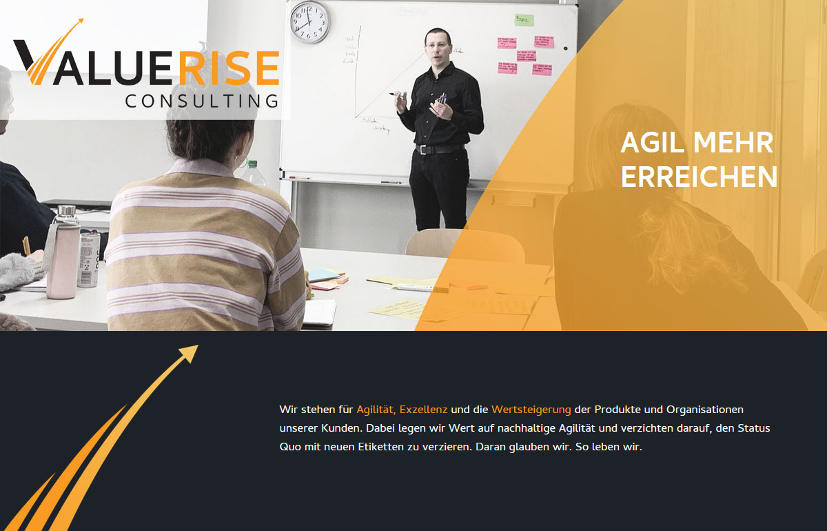 ValueRise Consulting - Agility & Scrum Beratung & Training