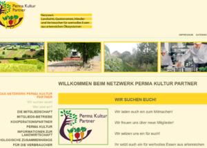 Webdesign Perma Kultur Partner